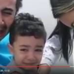 Πατέρας και γιος στην αιμοληψία [βίντεο]