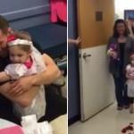"""4χρονη """"παντρεύεται"""" τον αγαπημένο της Νοσηλευτή [βίντεο]"""