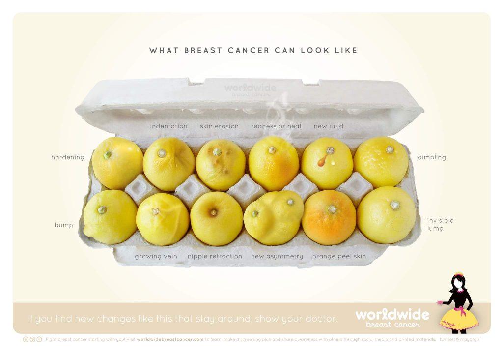 Know your lemons λεμόνια σαν μαστοί, τύποι του καρκίνου του μαστού
