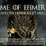 Ιατρικές Ειδικότητες ως χαρακτήρες από το Game of Thrones