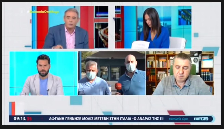 Νοσηλευτής ΜΕΘ COVID-19 κατά δημοσιογράφων για τον υποχρεωτικό εμβολιασμό